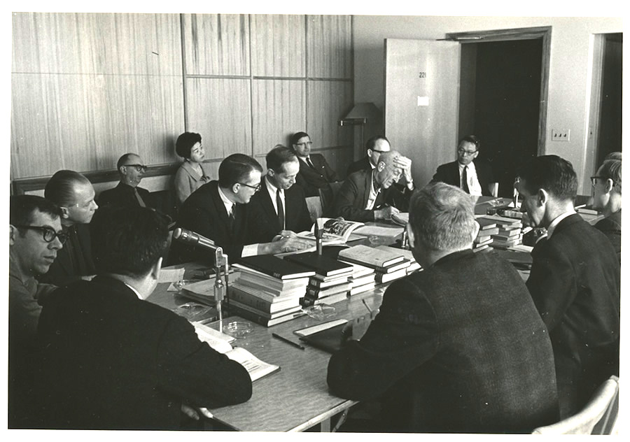 Patriarchs at work: Reflections on an ethnomusicological symposium in 1963 (3/6)